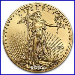 2020 1/10 oz Gold American Eagle BU SKU#196123