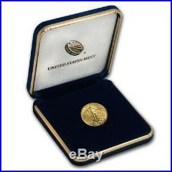 2020 1/10 oz Gold American Eagle BU in presentation case FREE SHIPPING