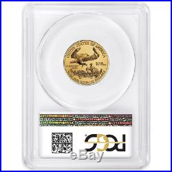 2020 $10 American Gold Eagle 1/4 oz. PCGS MS70 First Strike Flag Label