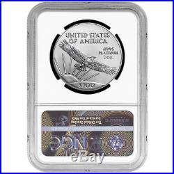 2020 $100 American Platinum Eagle NGC MS69 Blue ER Label