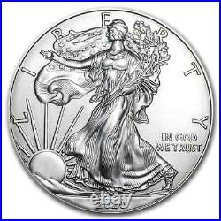2020 100-Coin Silver American Eagle MintDirect Mini Monster Box SKU#196106