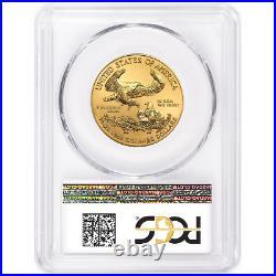 2020 $25 American Gold Eagle 1/2 oz PCGS MS70 FDOI Flag Label