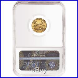 2020 $5 American Gold Eagle 1/10 oz. NGC MS70 FDI First Label