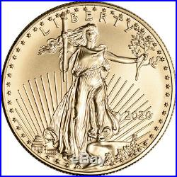 2020 American Gold Eagle 1 oz $50 NGC MS70 Early Releases
