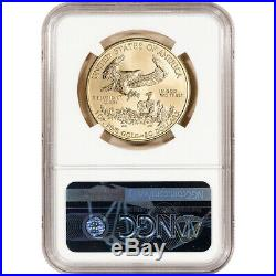 2020 American Gold Eagle 1 oz $50 NGC MS70 First Day of Issue Grade 70