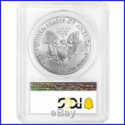 2020 (P) $1 American Silver Eagle PCGS MS70 Emergency Production Philadelphia La