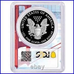2020-S Proof $1 American Silver Eagle PCGS PR70DCAM FDOI Golden Gate Frame