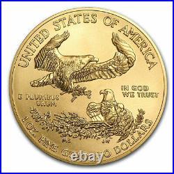 2021 1 oz American Gold Eagle (MintDirect Single) SKU#218762