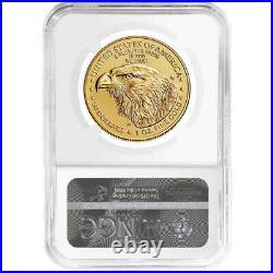 2021 $50 Type 2 American Gold Eagle 1 oz NGC MS70 FDI ALS Label