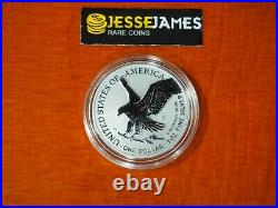 2021 S Reverse Proof Silver Eagle From Designer Edition Set One Coin In Cap