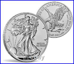 21XJ American Eagle 2021 One Ounce Silver Reverse Proof Two-Coin Set CONFIRMED