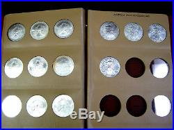 33 Coin Complete Set Silver American Eagle S In Dansco United States Dollars Unc