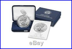 American Eagle 2019-S One Ounce Silver Enhanced Reverse Proof Coin 19XE SEALED