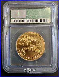 American Liberty Gold Eagle 1 Oz 50 Dollars 2000 Ms70