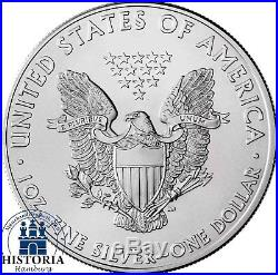 American Silver Eagle 2018 USA Dollar 20 Silberdollar Münzen in Tube