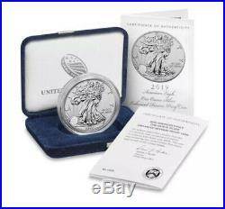 American Silver Eagle 2019 ENHANCED REVERSE Proof S Dollar RAREST SILVER EAGLE