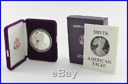 COMPLETE Set 1986-2020 American Silver Eagle Proof 1 Oz Box & COA Collection