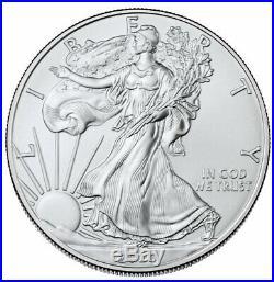Certified Roll-20 2020(P) 1oz Silver Eagle Struck at Philadelphia NGC BU PRESALE