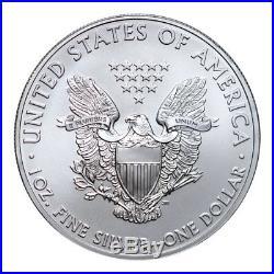 Certified Roll of 20 2012(S) Silver Eagle Struck San Francisco NGC BU SKU53497
