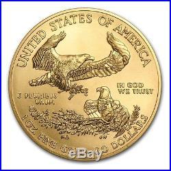Ch/gem Bu 2018 1 Oz. $50 American Eagle Gold United States Coin 1 Ounce