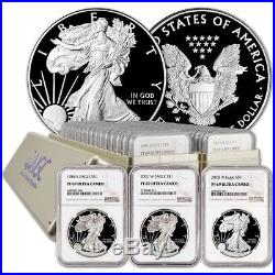 Complete NGC PF69 Silver Eagle Set (1986-2018)