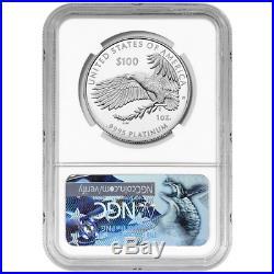 DEAL 2018-W Proof $100 American Platinum Eagle Life NGC PF70UC Blue ER Label