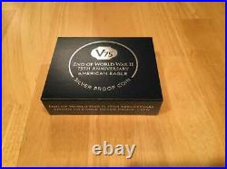 End of World War II 75th Anniversary American Eagle Silver Proof Coin Dollar W