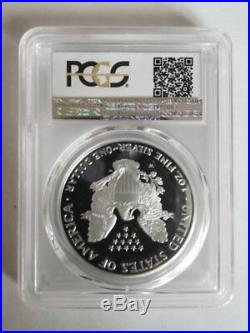 KEY DATE! Silver Eagle 1995-W Proof PR-68 DCAM Deep Cameo Coin