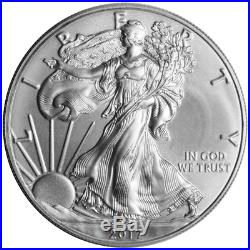 Lot of 20 2017 $1 1 oz Silver American Eagle BU Full Roll