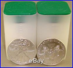 Lot of (40) 2018 1 oz. 999 Fine American Silver Eagle Bullion Coins Eagles
