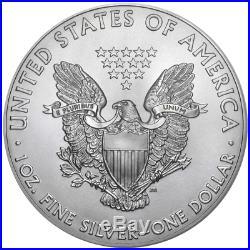 Lot of 5 2019 $1 American Silver Eagle 1 oz Brilliant Uncirculated