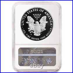 Presale 2020-S Proof $1 American Silver Eagle NGC PF70UC Trolley ER Label