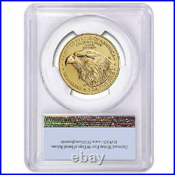 Presale 2021 $50 Type 2 American Gold Eagle 1 oz. PCGS MS70 FS Flag Label