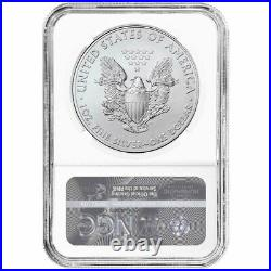 Presale 2021 (P) $1 American Silver Eagle NGC MS70 Emergency Production ER Lib