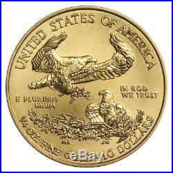 Random Year 1/4 oz Gold American Eagle $10 Coin Brilliant Uncirculated
