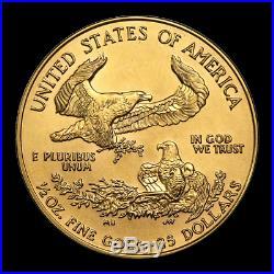 SPECIAL PRICE! 1/2 oz Gold American Eagle BU (Random Year) SKU #83878