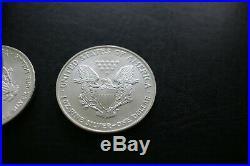 Silver bullion american eagle 1oz x20 tube cheapest on ebay one dollar 2004